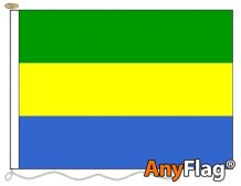 - GABON ANYFLAG RANGE - VARIOUS SIZES
